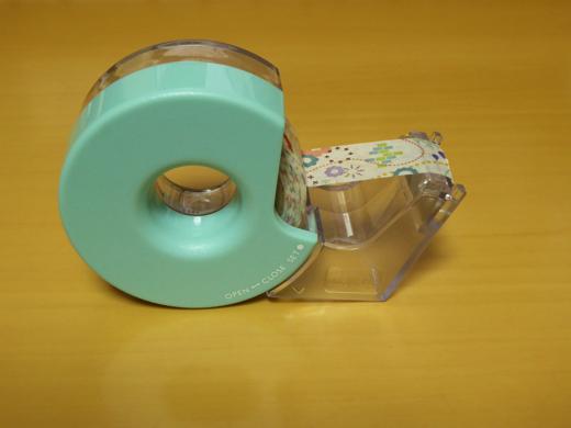 カルカットハンディ マスキングテープ用 表(テープセット後)