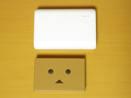 Cheero Power Plus DANBOARD version-Block- Power Coreと比較