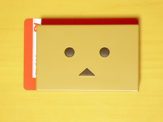 Cheero Power Plus DANBOARD version-Block- カードと比較