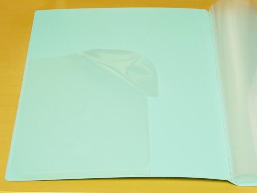 LIHIT LAB CLEAR BOOK N−7675 ホルダーキープ ストッパー