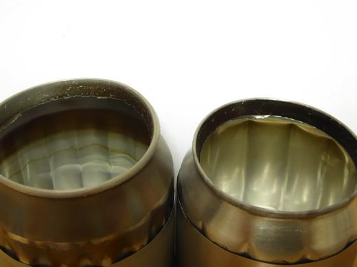 自作アルミ缶アルコールストーブ A、Bタイプ比較 その3