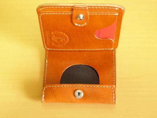 財布 2つ折り コンチャ 小銭入れ