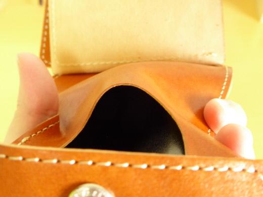 財布 2つ折り コンチャ 小銭入れ その2