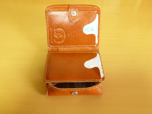 財布 2つ折り コンチャ カード入れその3