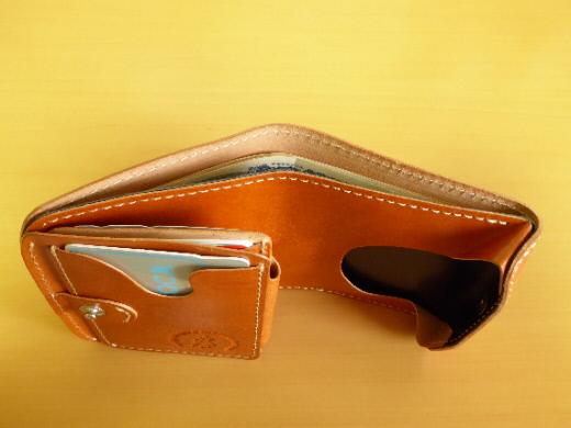 財布 2つ折り コンチャ 札入れ
