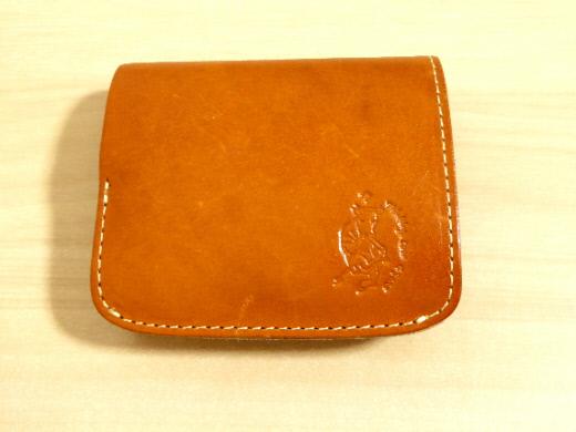 財布 2つ折り コンチャ 数か月使用後