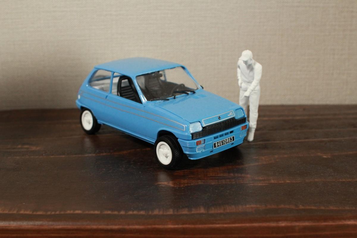 Renault 5 Alpine Kit ITALERI 1:24 IT3651