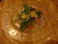 Italian Dining GRIP 2010年2月のコース 真鯛のカルパッチョ