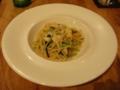 Italian Dining GRIP 2010年2月のコース ツブ貝と壬生菜のアーリオ・オーリオ