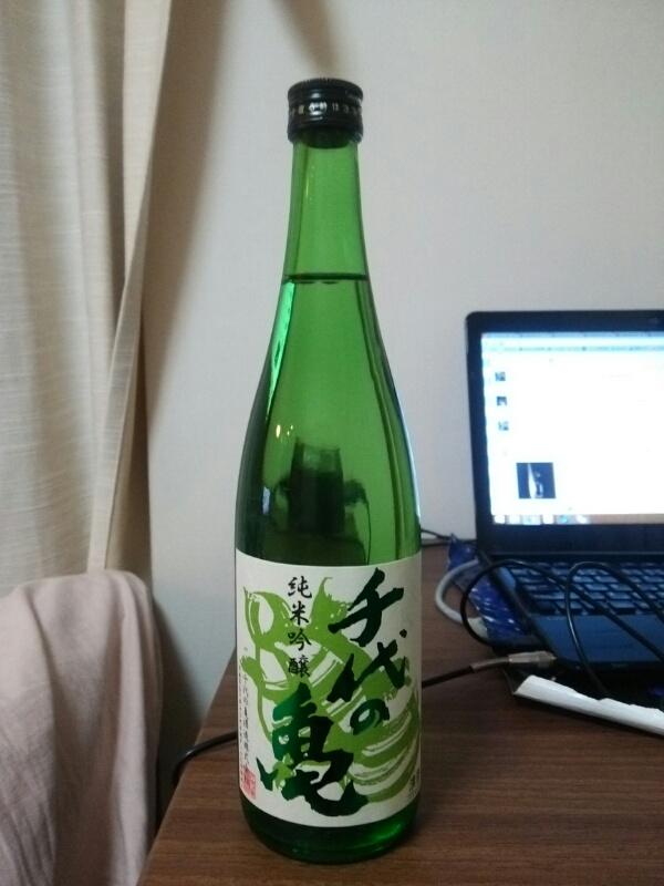 千代の亀 純米吟醸 緑