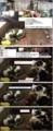 [キジ][ミィ][オカン][キィ]キジくんトンネルに、ミィちゃんの足グセ 14-05-08