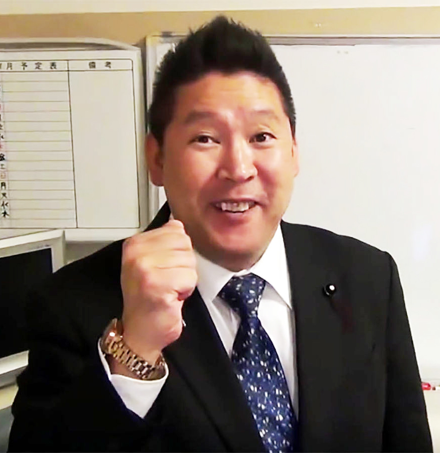 NHKをぶっ壊すの立花孝志さん
