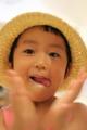 京都新聞写真コンテスト 『麦わら帽子のキィズ』