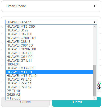Ascend Mate7 (MT7-J1)のBootloader Unlock - The Voyage of a