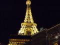 ホテル・パリスの夜景(エッフェル塔)