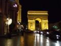 ホテル・パリスの夜景(凱旋門)