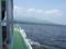大沼遊覧船より駒ケ岳を望む