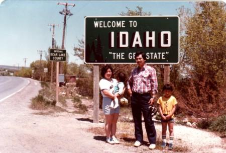 アイダホ州境