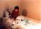 息子のベッドルーム