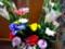 墓前にささげた花