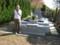 母の眠る墓