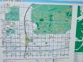 北大近辺を示すマップ