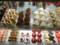 洋菓子店のショウウィンドウ