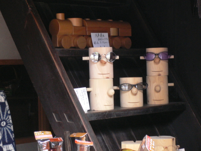 妻籠宿の土産品