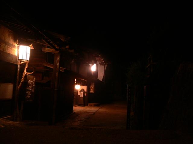 夜の妻籠宿2