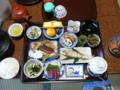 阪本屋の夕食