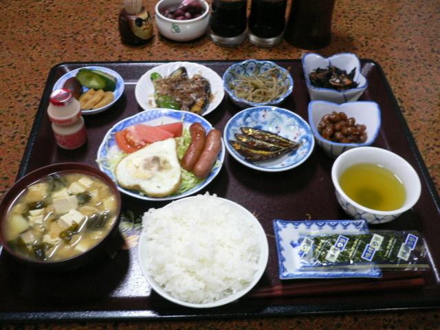 阪本屋の朝食