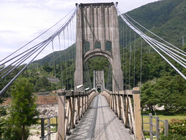 南木曽・桃介橋1