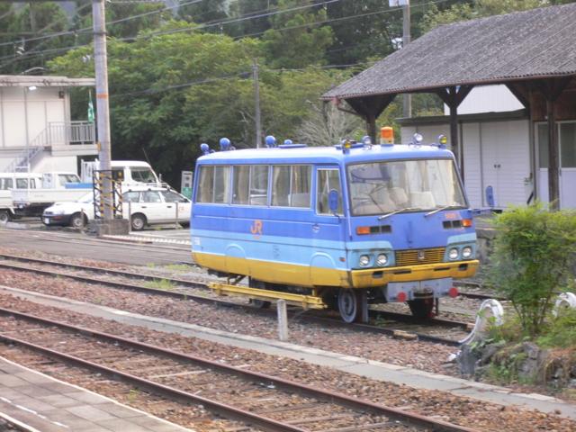 飯田線・謎の車両?