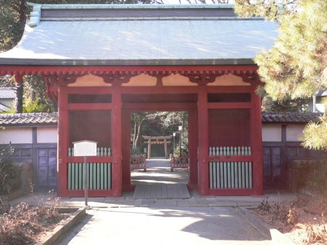 仙波東照宮の門