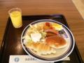 朝食バイキング1