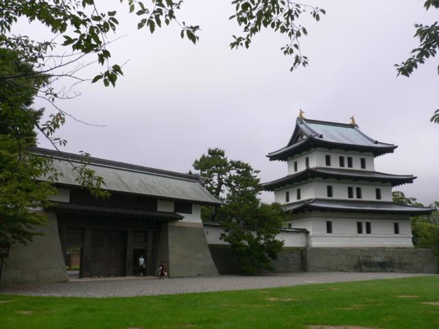 今の松前城