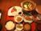 夕食・レストラン矢野にて