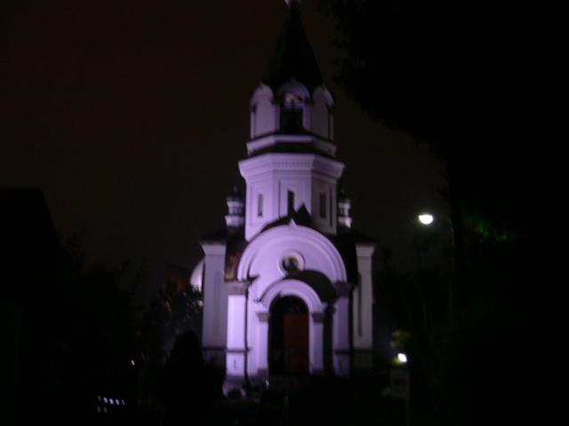 夜のハリストス正教会