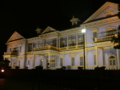 夜の旧函館区会館堂