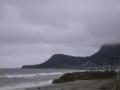朝の函館の海岸
