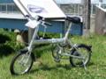 レンタサイクル 折りたたみ自転車