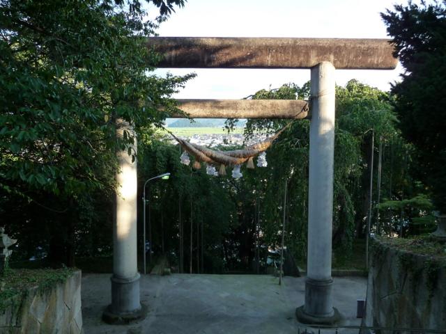 烏帽子神社の鳥居