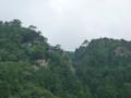 ふもとから見た立石寺