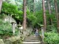 立石寺・奥の院への道のり