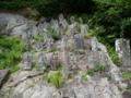 立石寺の境内