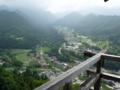 立石寺・五大堂の風景