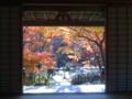 襖から覗いた宝筐院2