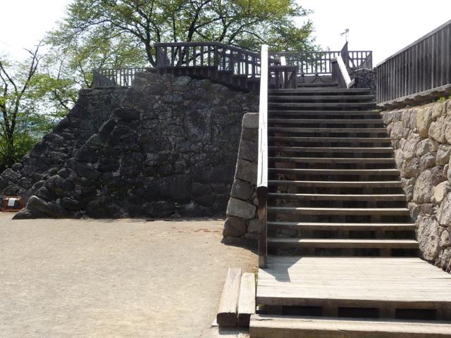 松代城・石垣