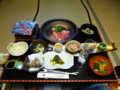 桂荘の夕食・懐石1