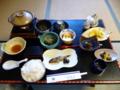 桂荘の朝食